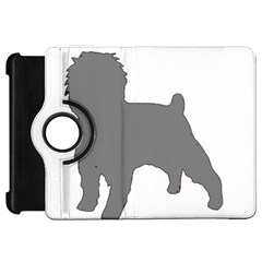 Affenpinscher Color Grey Silo Kindle Fire HD Flip 360 Case