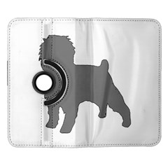 Affenpinscher Color Grey Silo Samsung Galaxy Note II Flip 360 Case