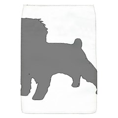 Affenpinscher Color Grey Silo Removable Flap Cover (Small)