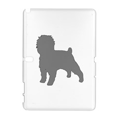 Affenpinscher Color Grey Silo Samsung Galaxy Note 10.1 (P600) Hardshell Case