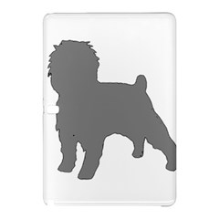 Affenpinscher Color Grey Silo Samsung Galaxy Tab Pro 10.1 Hardshell Case
