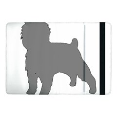 Affenpinscher Color Grey Silo Samsung Galaxy Tab Pro 10.1  Flip Case