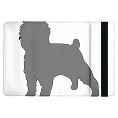 Affenpinscher Color Grey Silo Apple iPad Air Flip Case