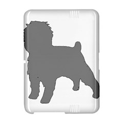 Affenpinscher Color Grey Silo Kindle Fire HD Hardshell Case