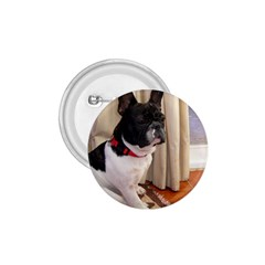 Sitting 3 French Bulldog 1.75  Button