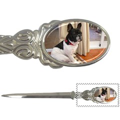 Sitting 3 French Bulldog Letter Opener