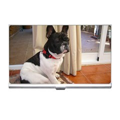 Sitting 3 French Bulldog Business Card Holder