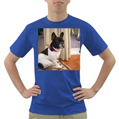 Sitting 3 French Bulldog Men s T-shirt (Colored)