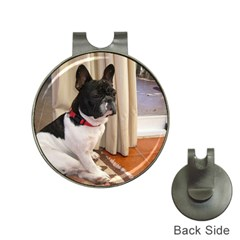 Sitting 3 French Bulldog Hat Clip with Golf Ball Marker