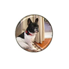 Sitting 3 French Bulldog Golf Ball Marker 10 Pack (for Hat Clip)