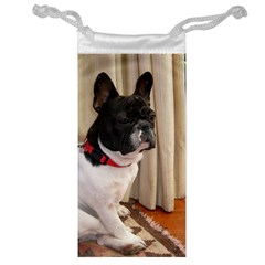 Sitting 3 French Bulldog Jewelry Bag
