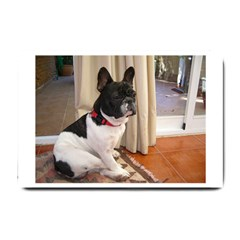 Sitting 3 French Bulldog Small Door Mat