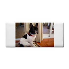 Sitting 3 French Bulldog Hand Towel