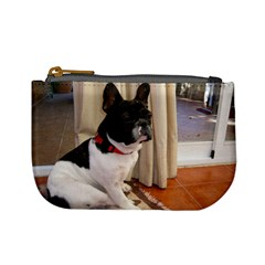 Sitting 3 French Bulldog Coin Change Purse