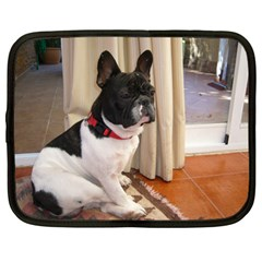 Sitting 3 French Bulldog Netbook Sleeve (XXL)