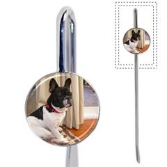 Sitting 3 French Bulldog Bookmark