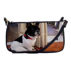 Sitting 3 French Bulldog Evening Bag