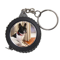 Sitting 3 French Bulldog Measuring Tape