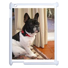 Sitting 3 French Bulldog Apple iPad 2 Case (White)