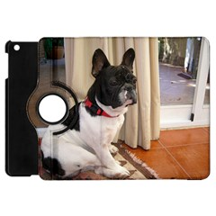 Sitting 3 French Bulldog Apple iPad Mini Flip 360 Case