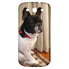 Sitting 3 French Bulldog Samsung Galaxy S3 S III Classic Hardshell Back Case