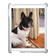 Sitting 3 French Bulldog Apple iPad 3/4 Case (White)