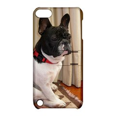 Sitting 3 French Bulldog Apple iPod Touch 5 Hardshell Case with Stand