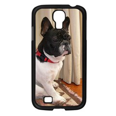 Sitting 3 French Bulldog Samsung Galaxy S4 I9500/ I9505 Case (Black)