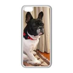 Sitting 3 French Bulldog Apple iPhone 5C Seamless Case (White)