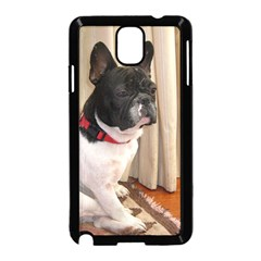 Sitting 3 French Bulldog Samsung Galaxy Note 3 Neo Hardshell Case (Black)