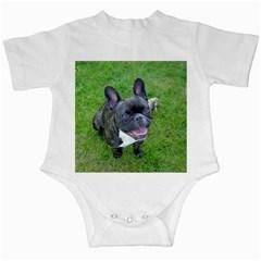 Sitting 2 French Bulldog Infant Bodysuit