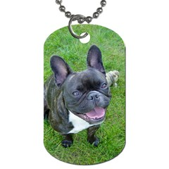 Sitting 2 French Bulldog Dog Tag (Two-sided)