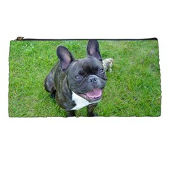 Sitting 2 French Bulldog Pencil Case