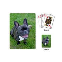 Sitting 2 French Bulldog Playing Cards (Mini)