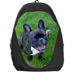 Sitting 2 French Bulldog Backpack Bag