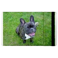 Sitting 2 French Bulldog Apple iPad 3/4 Flip Case
