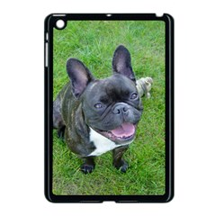 Sitting 2 French Bulldog Apple iPad Mini Case (Black)