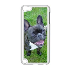 Sitting 2 French Bulldog Apple iPod Touch 5 Case (White)