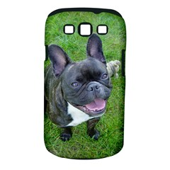 Sitting 2 French Bulldog Samsung Galaxy S III Classic Hardshell Case (PC+Silicone)