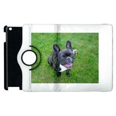 Sitting 2 French Bulldog Apple iPad 3/4 Flip 360 Case