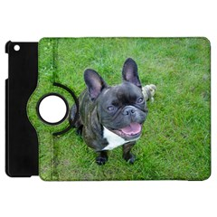 Sitting 2 French Bulldog Apple iPad Mini Flip 360 Case