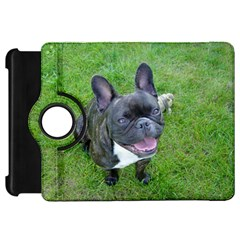 Sitting 2 French Bulldog Kindle Fire HD Flip 360 Case