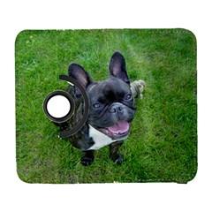 Sitting 2 French Bulldog Samsung Galaxy S  III Flip 360 Case