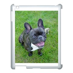 Sitting 2 French Bulldog Apple iPad 3/4 Case (White)