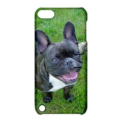 Sitting 2 French Bulldog Apple iPod Touch 5 Hardshell Case with Stand