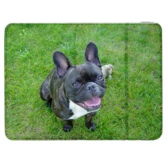 Sitting 2 French Bulldog Samsung Galaxy Tab 7  P1000 Flip Case