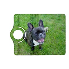 Sitting 2 French Bulldog Kindle Fire HD (2013) Flip 360 Case