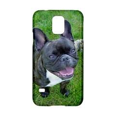 Sitting 2 French Bulldog Samsung Galaxy S5 Hardshell Case