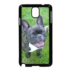 Sitting 2 French Bulldog Samsung Galaxy Note 3 Neo Hardshell Case (Black)