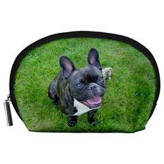 Sitting 2 French Bulldog Accessory Pouch (Large)